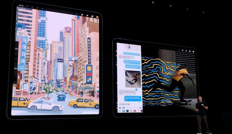 Ramkasiz iPad Pro ning yangi avlodi