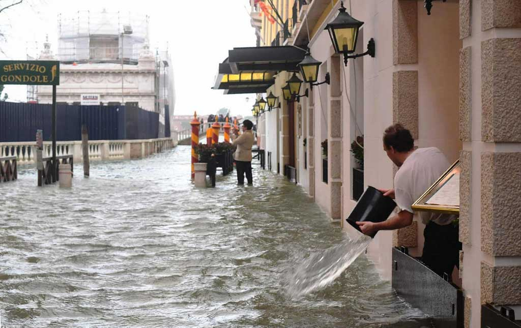 Venetsiya – suv ostidagi shahar suv ostida qoldi