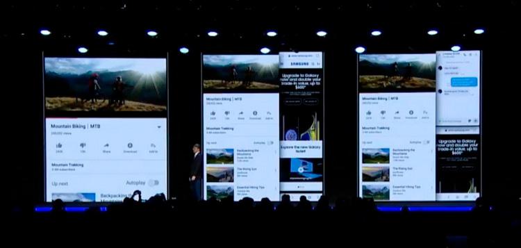 Samsung ham o'zining egiluvchan smartfonini taqdim etdi