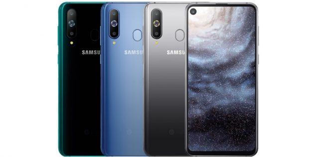 Samsung ramkasiz displeyga ega Galaxy A8s ni taqdim etdi