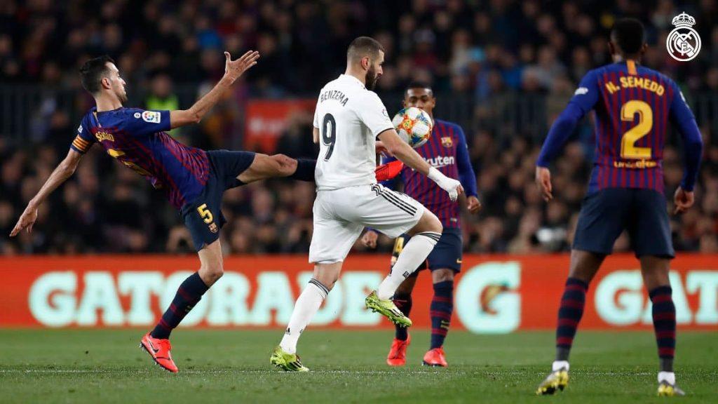"""2019 yildagi birinchi El Clasico. Ispaniya kubogi. """"Barselona"""" 1:1 """"Real Madrid"""""""