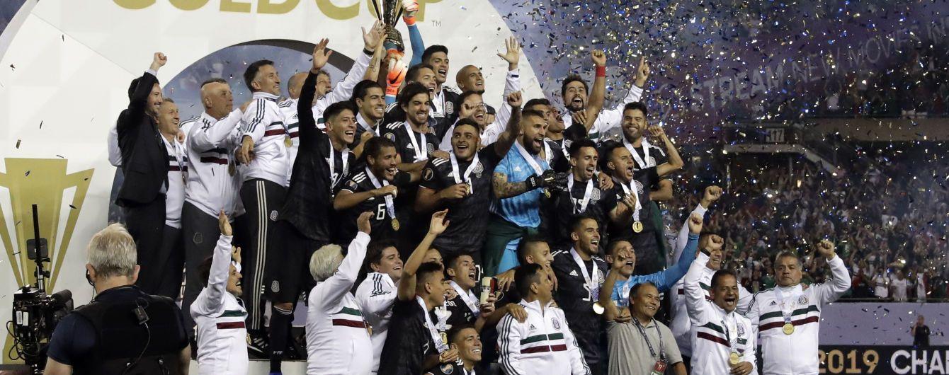 Бразилия выиграла Копа Америку, а Мексика Кубок Конкакаф