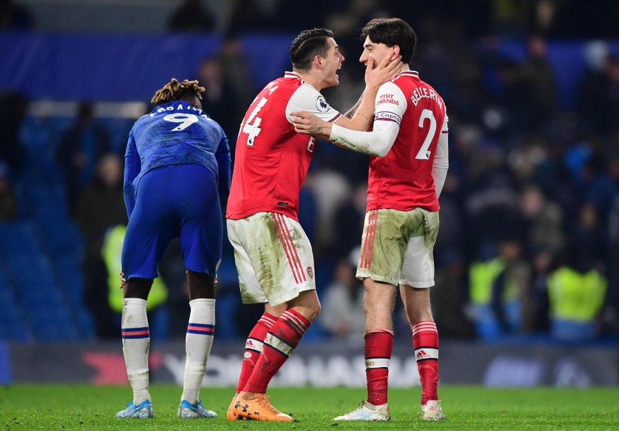 «Арсенал» в меньшинстве спас матч с «Челси» – 2:2. Бельерин сравнял на 87-й минуте