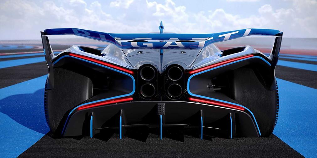 Bugatti 1850 ot kuchiga ega giperkarni namoyish etdi