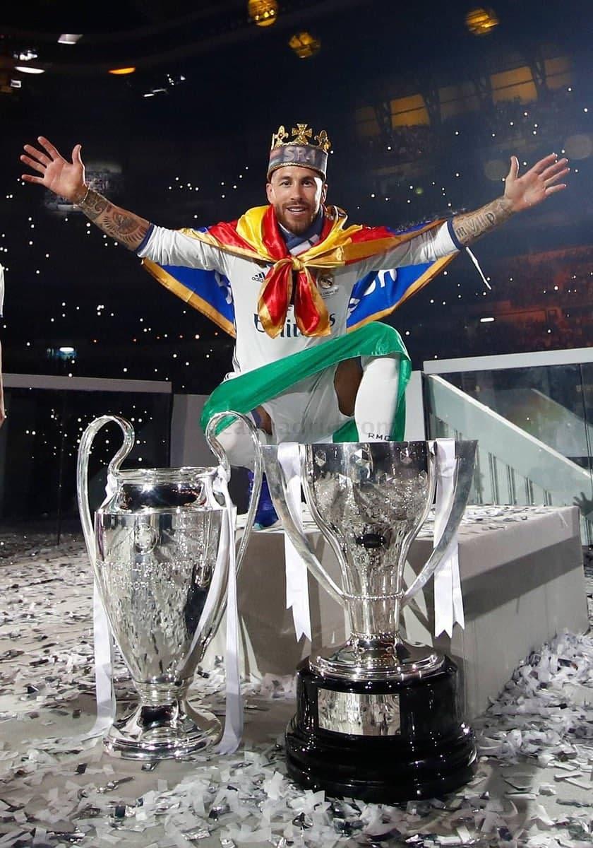 «Real» Ramos jamoadan ketishini e'lon qildi