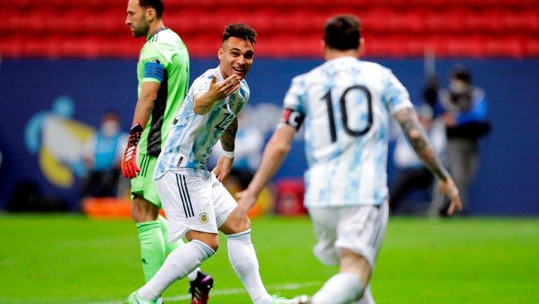 Evro finalida: Italiya - Angliya, Amerika Kubogi finalida esa: Braziliya - Argentina.