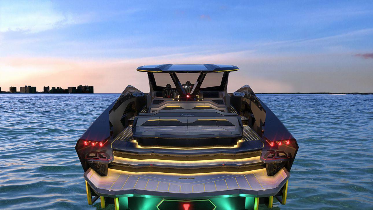Konor Makgregorning 3,5 mln dollarlik Lamborghini yaxtasi tayyor bo'ldi va unga yetkazib berildi