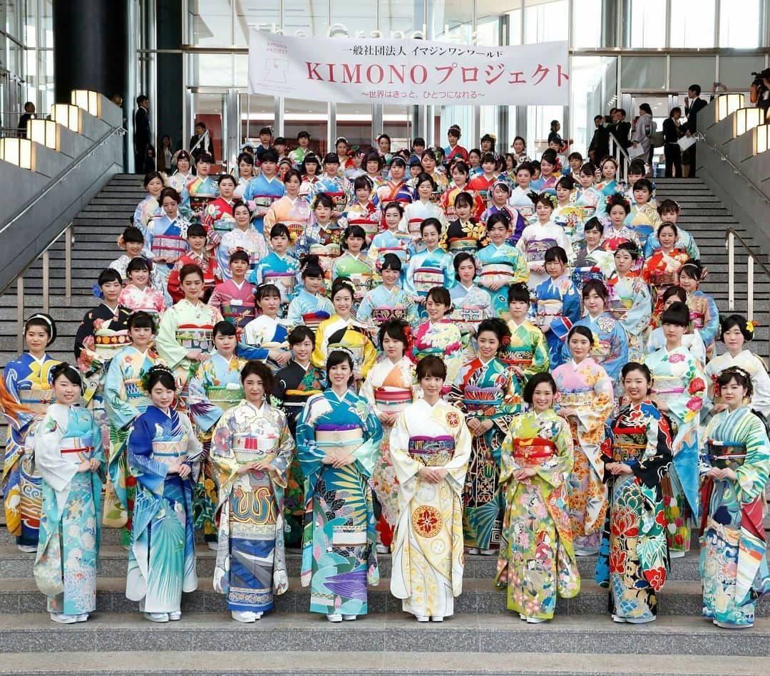 Yapon dizaynerlari Olimpiadada ishtirok etayotgan har bir mamlakat sharafiga kimono tikdilar